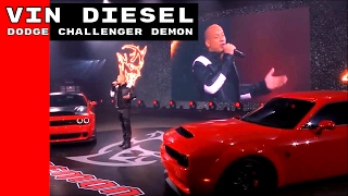 Nonton Vin Diesel Talking About The Dodge Demon & The Fate of the Furious Film Subtitle Indonesia Streaming Movie Download
