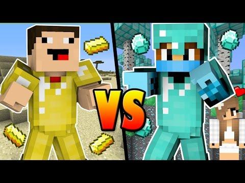 SUPER NOOB vs. PRO - Minecraft Machinima