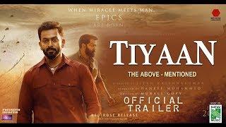 TIYAAN Official Trailer Prithviraj Indrajith Murali Gopy