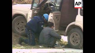 Bosnia - Sniper Fatalities & Serb Attack On Truck
