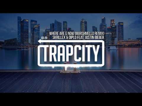Skrillex & Diplo - Where Are Ü Now (feat. Justin Bieber) (Marshmello Remix)