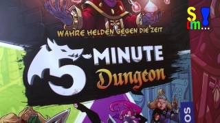 Erklärvideo und Let's Play: 5-Minute-Dungeon