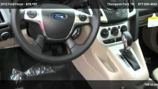 Ford Focus SE @ Thompson Ford