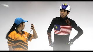 National short track speed skater Ariff Rasydan Mohamad Fadzli hopes that Malaysia will stamp their mark in the first ever winter sports in the Kuala Lumpur SEA Games in August 2017. Beyond that, the 18-year-old's target is the 2018 Winter Olympics.