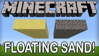 ★ Minecraft - FLOATING SAND TRICK! (Minecraft Tips and Tricks) - 1.8.3 / 1.8