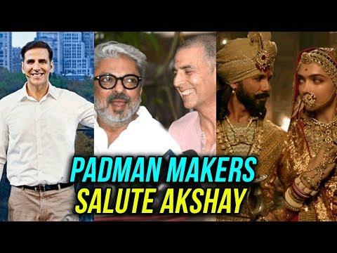 Padman Makers REACT to Akshay Kumar Decision to Po