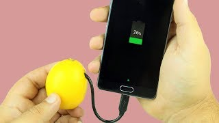 Video Charge Phone with Lemon in 10 Seconds 100% MP3, 3GP, MP4, WEBM, AVI, FLV Oktober 2017
