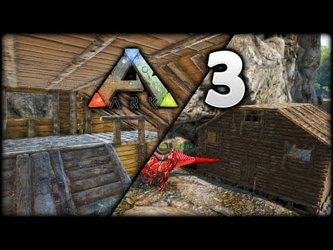 FINISHING My AWESOME Wood House! | ARK Survival Evolved: The Island | Episode 3