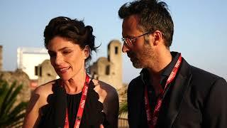 Anna Valle e Ulisse Lendaro all'Ischia Film Festival 2018