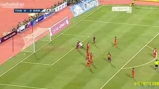 Lionel Messi Second Goal ~ Thailand 0 4  Barcelona ~ 07 08 2013