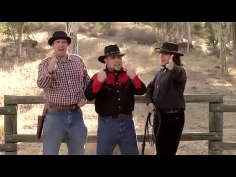 Gangnam Style phiên bản Cao Bổi - Gangnam style cover by Funny Cowboy