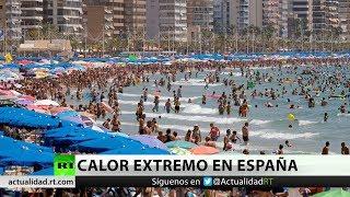 Ola de calor de 44°C llega a España