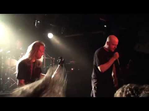 pierced - Suffocation with John Gallagher of Dying Fetus on vocals live in the Baroeg Rotterdam 22-05-2013 The Netherlands.