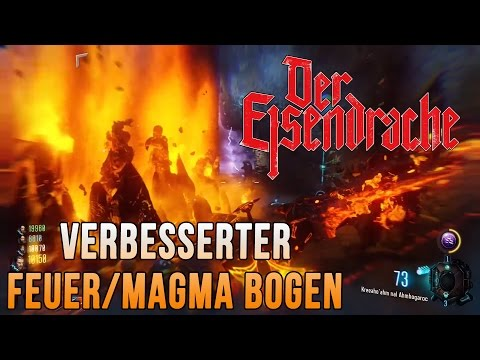 Feuer/Magma Bogen Upgrade | Der Eisendrache - BO3 [German/Deutsch] [Full-HD] (видео)