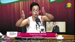 Francisco Sanchis comenta principales temas de la farándula 15-12-2017