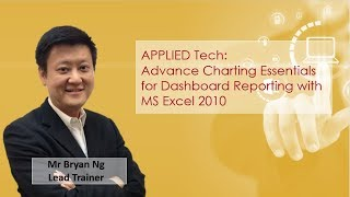 Advance Charting Essentials for Dashboard Reporting with MS Excel 2010