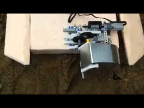 Testing of the soil intake device