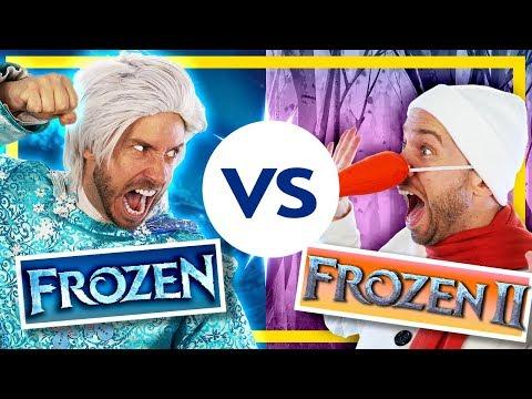 Frozen vs. Frozen 2