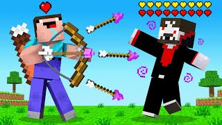 *UNLIMITED* HEALTH Arrows in Minecraft UHC