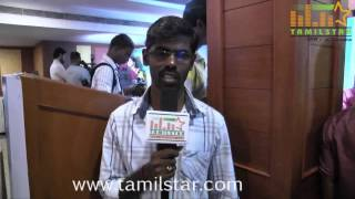 Lyricist Murugan Mandhiram at ThirutuVCD Movie Press Meet