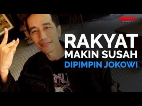 Rakyat Makin Susah Dipimpin Jokowi