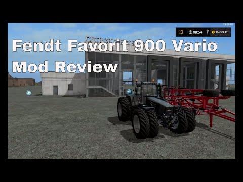 FENDT 900 Favorit Vario v1.0.0.0