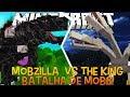 Mobzilla Vs The King !! - Briga de Mobs Minecraft