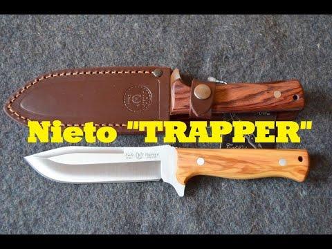 Nieto Gürtelmesser Trapper [Review] Bushcraft Gear aus Spanien - HD Video | Outdoor AusrüstungTV