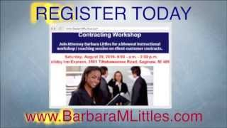 Attorney Contract Workshop Promo