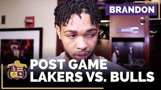 Brandon Ingram On 19-Point Comeback: 'Put Everything On The Line' by Lakers Nation