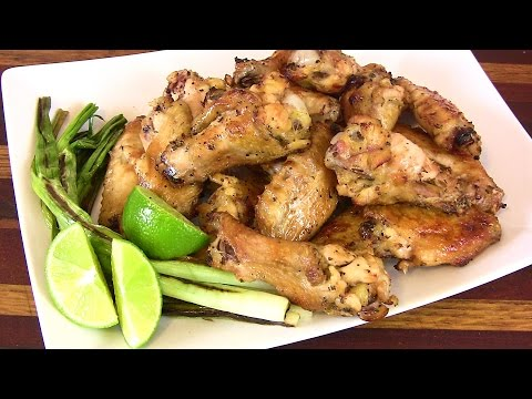Super Bowl Recipe: Tequila Lime Wings |Cooking With Carolyn