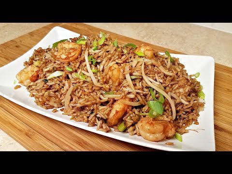 Easy Shrimp Fried Rice Recipe | How to Make Chinese Fried Rice | Chinese Take Out Style Fried Rice
