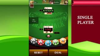 BlackJack Royale ♠ 21 Live YouTube video