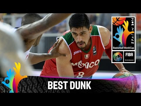 BEST - Watch the dunk of the game by Gustavo Ayon against Angola. The 2014 FIBA Basketball World Cup will take place in Spain from 30 August - 14 September and will feature the best international...