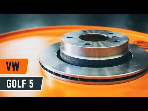 Cambio dischi del freno posteriori e pastiglie freni VW GOLF 5 TUTORIAL   AUTODOC