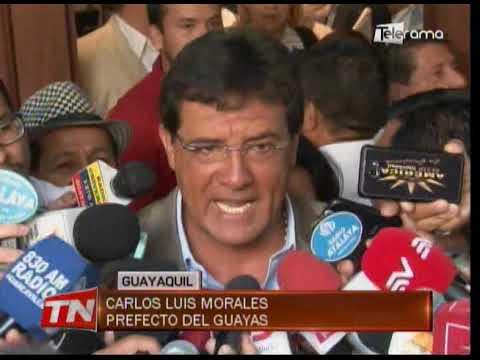 """""""Caos y desorden"""" es lo encontrado en prefectura del Guayas según Morales"""
