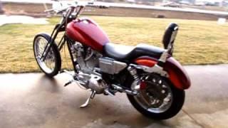6. 2002 HARLEY-DAVIDSON XL883 HUGGER SPORTSTER 883