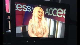 Video I'M ON ACCESS HOLLYWOOD THIS WEEKEND! MP3, 3GP, MP4, WEBM, AVI, FLV Oktober 2018