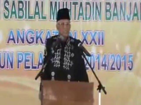 Pidato Ketua LPI Sabilal Muhtadin di acara Perpisahan Siswa Kelas 6 SD Islam Sabilal Muhtadin 2015