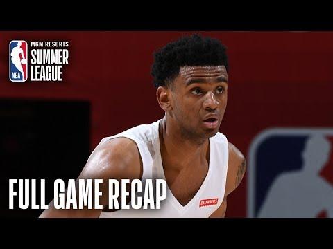 Video: CAVALIERS vs PELICANS | Alexander-Walker Fills Up The Stat Sheet | MGM Resorts NBA Summer League