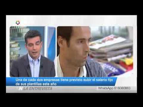 Entrevista a Christopher Dottie en Telemadrid (24/01/2017)