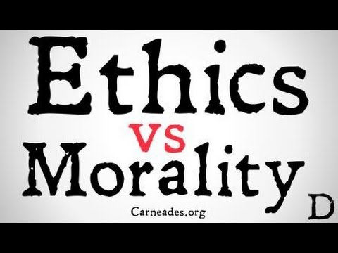 ethical vs morals