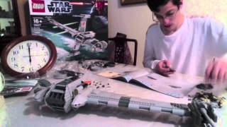 Star Wars Lego B-Wing Fighter Time Lapse (Ultimate Collector's Series)