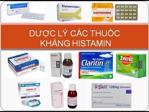 [Pharmog SS1 - Tập 06] - Dược lý về thuốc kháng Histamin H1