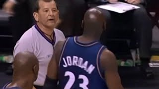 NBA referees wired 8 - featuring Michael Jordan, Ray Allen and others