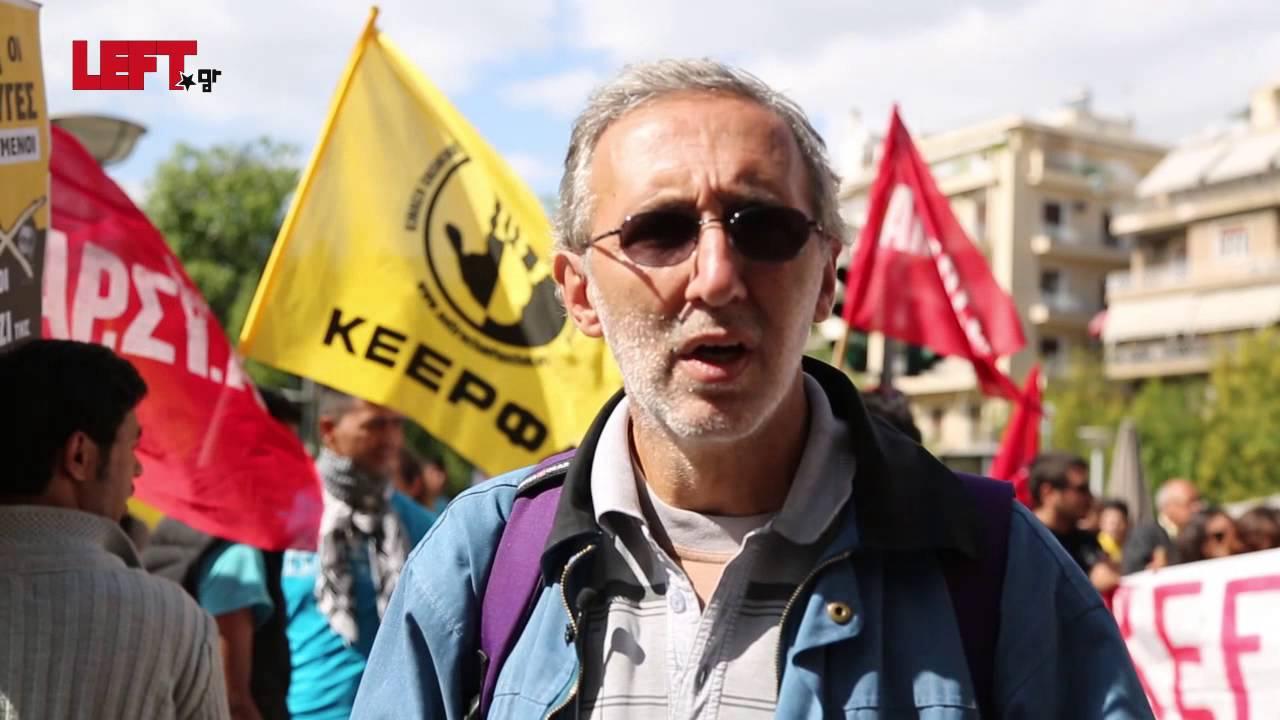 Αλληλεγγύη στους πρόσφυγες -Πέτρος Κωνσταντίνου, Δημοτικός σύμβουλος ΑΝΤΑΡΣΥΑ