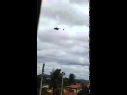 Sobrevôo de helicóptero em Casserengue 2015 (Parte 4)