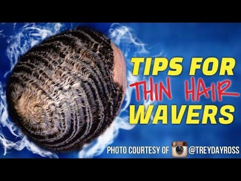360 Waves: BEST Advice For THIN Hair Wavers!