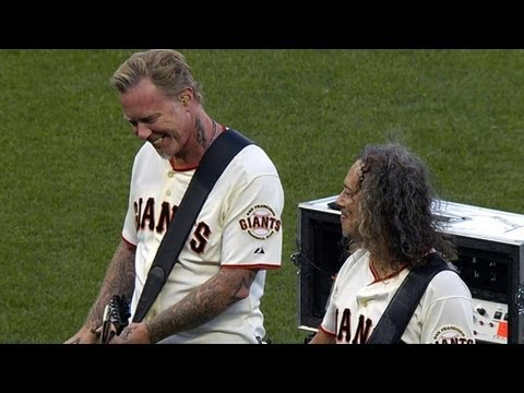 "Metallica Performs ""Star-Spangled Banner"""
