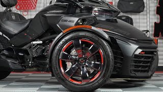 6. Can-Am Spyder F3 / F3S / F3T Colored Wheel Trim Accent Kits